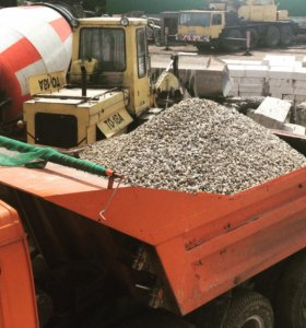 Щебень песок бетон