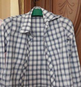 Рубашки для девочек х/б