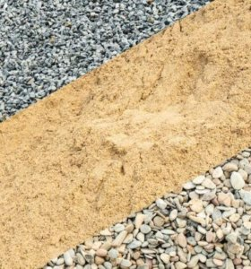 Песок, отсев, щебень, гравий