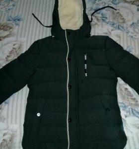 Новая очень теплая зимняя куртка