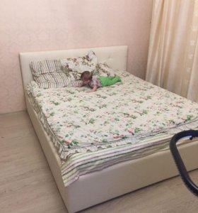 Кровать Роза белая 160*200
