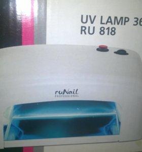 УФ лампа для маникюра Runail RU 36 Ватт