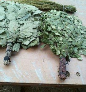 Травы и веники для бани и сауны
