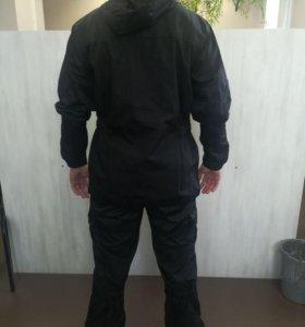 Летний костюм Горка рипстоп (черный)