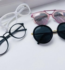 Очки солнцезащитные очки нулевки