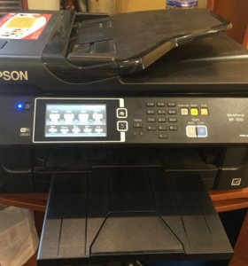 МФУ принтер epson WorkForce wf-7610 с СНПЧ