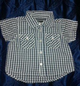 Рубашка H&M р. 62-68