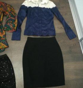 Блузки, юбка