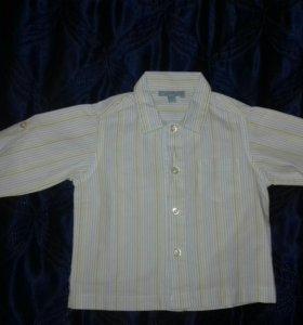 Рубашка р. 68-74