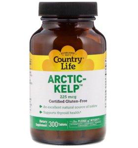 Arctic Kelp (Арктик Келп) Country Life, йод,225мкг