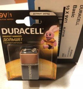 Крона Alkaline Duracell 9V DuraLock Basic корунд 9