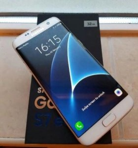 SAMSUNG Galaxy S7 Edge 32Gb White новый,гарантия
