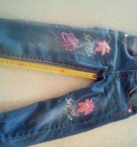 Детские джинсы. Для девочки