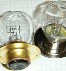 лампа двухконтактная 24V 60W