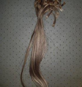 Волосы пряди натуральные