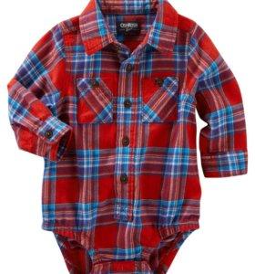 Детский боди-рубашка