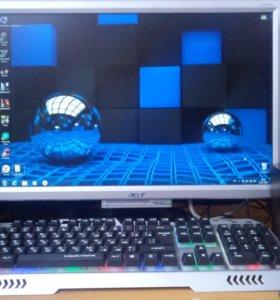 Игровой компьютер на i7 (Xeon) с монитором