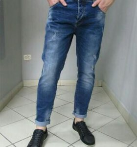 Новые джинсы для крупных мужчин