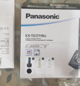 Радиотелефон Panasonic KX-TG1711RU