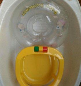 Ванна, сиденье и круг