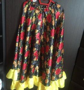 Цыганская юбка для девочки 134-140 размер