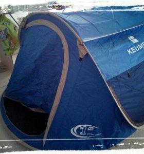 Палатка самораскрывающаяся 3-х местная
