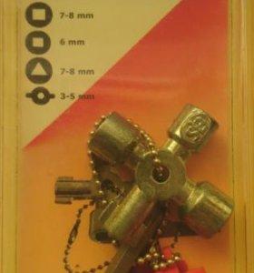 Ключ для шкафов VBW Knipex 001102