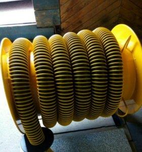 Вытяжная катушка для удаления выхлопных газов.