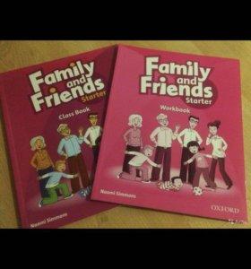 Комплект для изучения англ яз Family &Friends