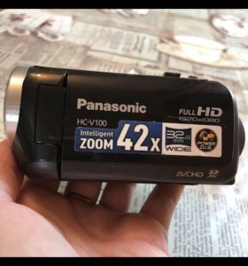Видеокамера Panasonic в отличном состоянии