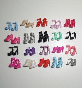 Коллекционная Обувь для Барби от Mattel США