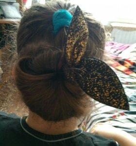 Заколка для волос делать шишку