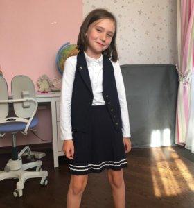 Школьная жилетка Fasola(маленькая леди)