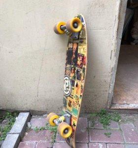 Ретро скейтборд