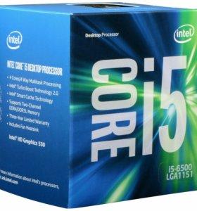 Продам связку процессора i5 6500+asrock b250м pro