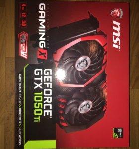Msi GTX 1050 TI Gaming 4g