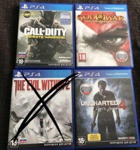 Игры для PS4 возможен обмен! Жду от вас предложени