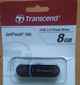 Transcend JetFlash 300 8Гб новая