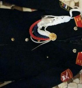 Китель кадетский