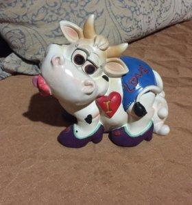 Копилка Корова-признание в любви