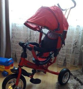 Трехколесный велосипед Moby kids Start eva