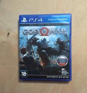 Игра для ps 4 GOD OF WAR 4
