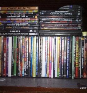 Диски игры, фильмы.