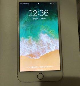 IPhone 6 plus, 128 Gb, gold