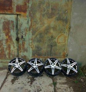 Литые диски R17 5*114,3