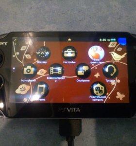 PSVita в хорошем состоянии+карта памяти на 4 Гб