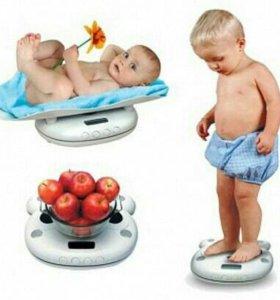 Весы электронные детские