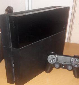 Playstation 4 + новый Dualshock 4 v.2