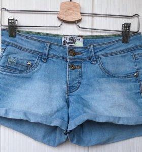 джинсовые шорты terranova