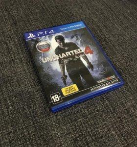 Продам игру Uncharted 4